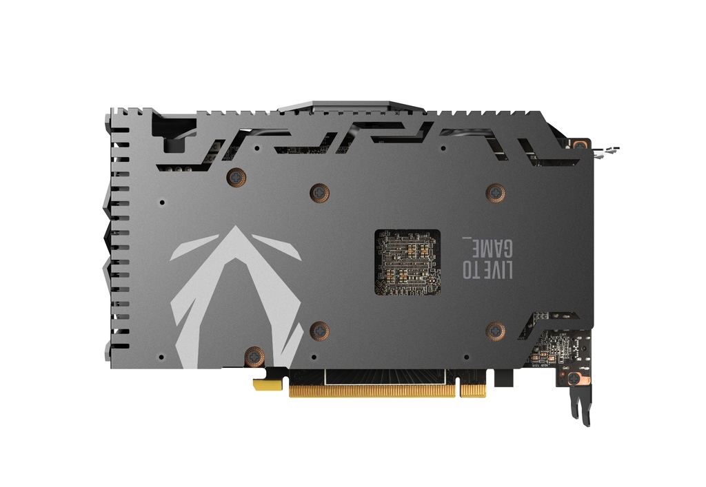 ZOTAC GAMING GeForce RTX 2060 AMP 백플레이트