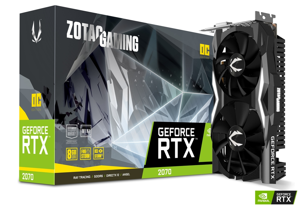 ZOTAC GAMING GeForce RTX 2070 OC MINI