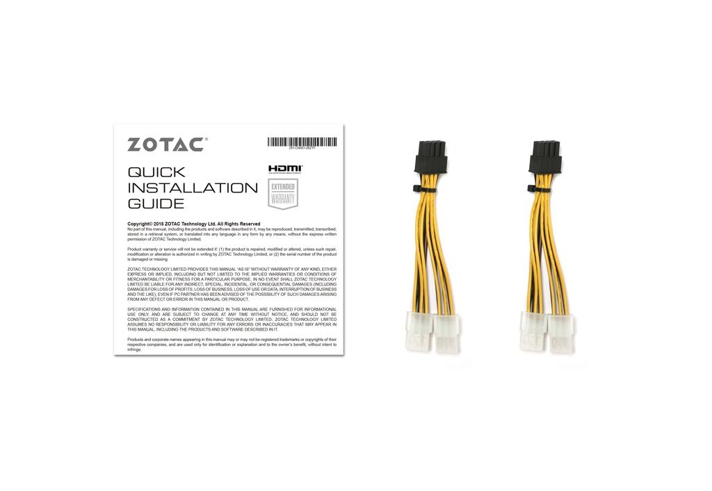 ZOTAC GAMING GeForce RTX 2080 Ti AMP MAXX