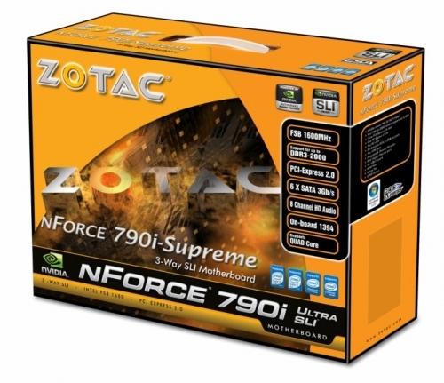 ZOTAC nFroce 790i Supreme
