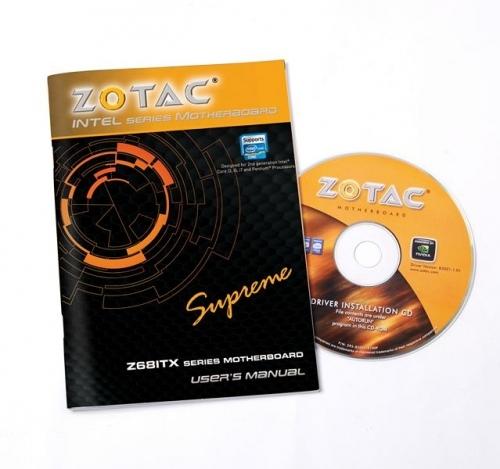 ZOTAC Z68-ITX WiFi Supreme