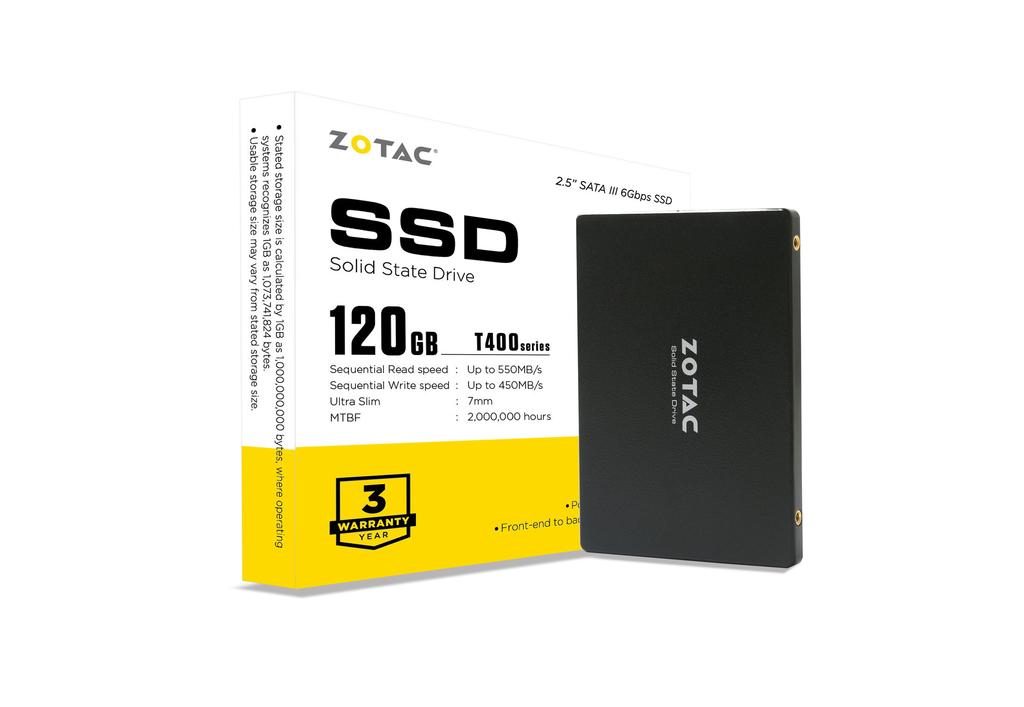 ZOTAC T400 120GB SSD