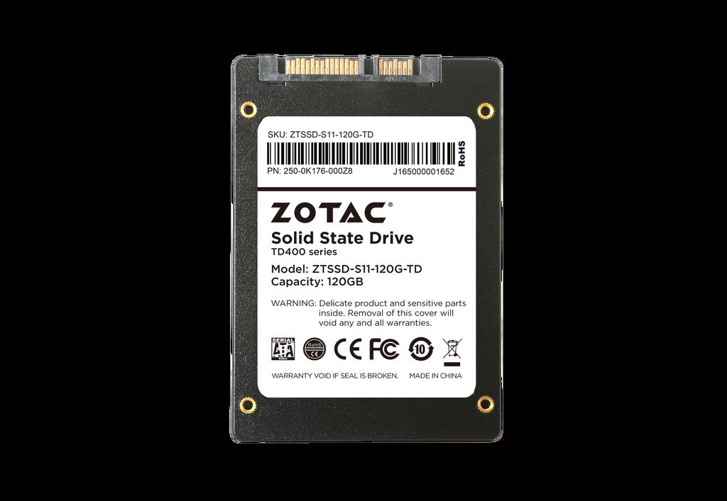 ZOTAC 120GB TD400 SSD
