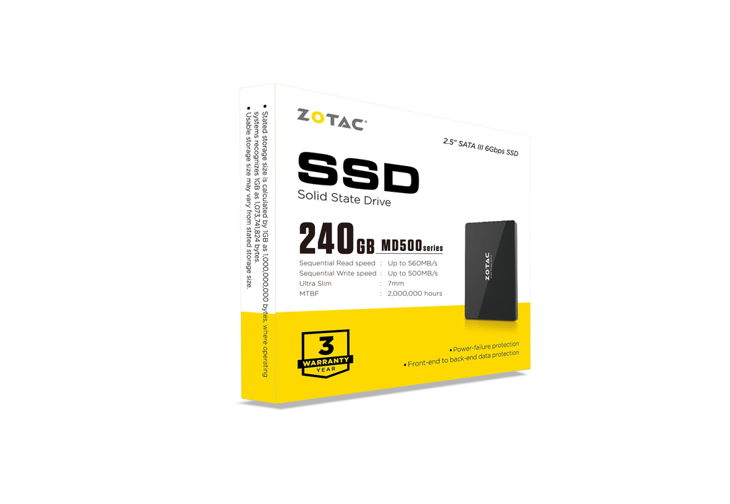 ZOTAC 240GB MD500 SSD