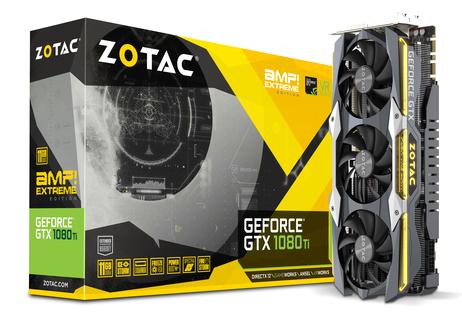 ZOTAC GeForce® GTX 1080 Ti AMP Extreme