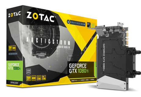 ZOTAC GeForce® GTX 1080 Ti ArcticStorm Mini