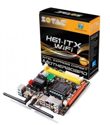 ZOTAC H61-ITX WiFi