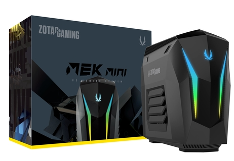 MEK MINI with Intel Core i5 and GeForce RTX 2060 SUPER (Bundled with Keyboard and Mouse)